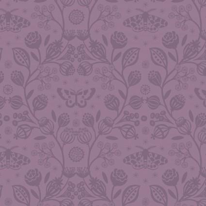 Winter Garden by Lewis and Irene - Purple Vine