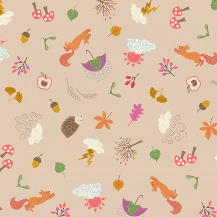 Whatever the Weather - Autumn on Biscuit