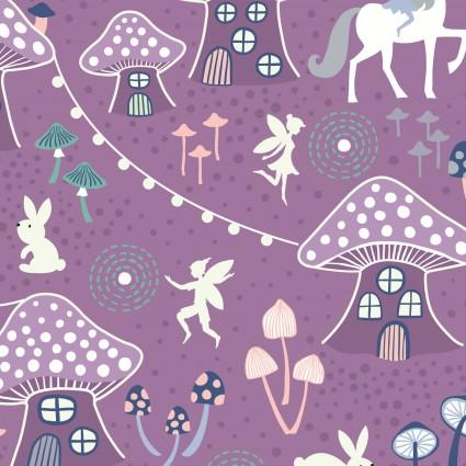 Fairy Nights Glow Purple Forest