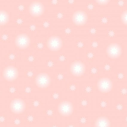 Fairy Nights Glow in the Dark Fabric - Pale Pink Starry Sky - by Lewis & Irene