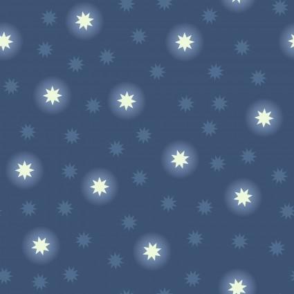Fairy Nights Glow Blue Stars