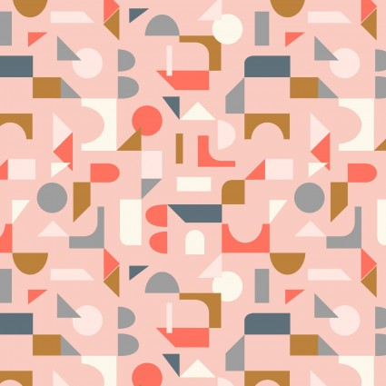 Lewis & Irene Forme Block Shapes - Pink