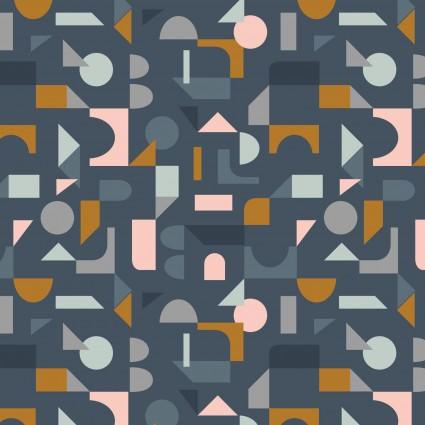 Lewis & Irene Forme Block Shapes - Navy