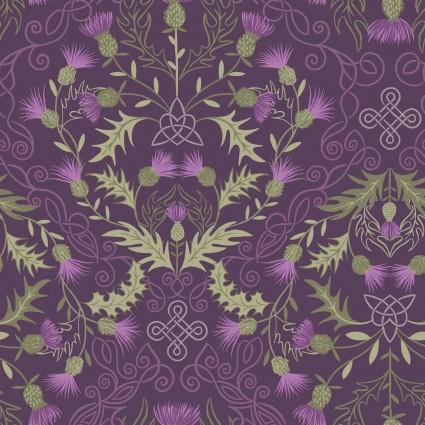 Loch Lewis Dk Purple Celtic Thistle