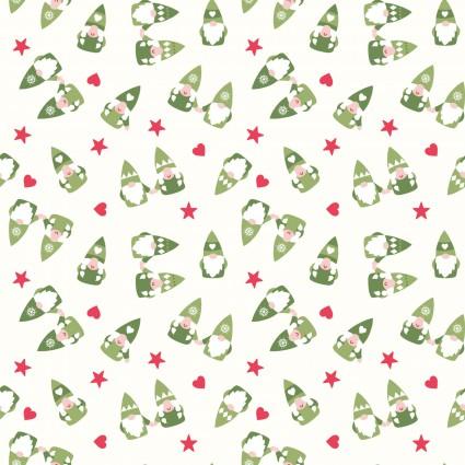 Hygge Christmas Gnomes on White