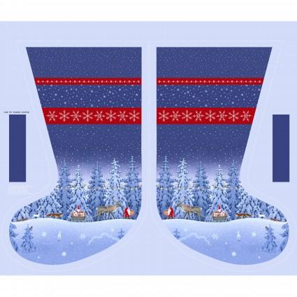 Tomten's Christmas Stocking Panel 54