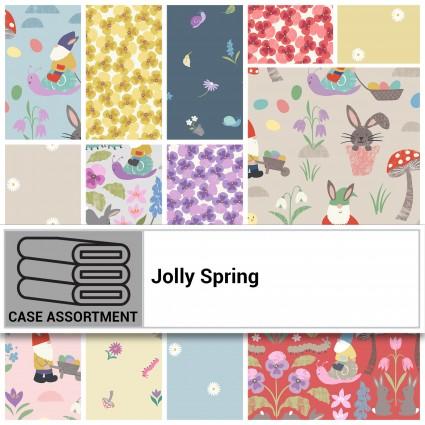 Jolly Spring 10 x 10 inch