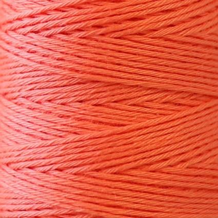Hidamari Sashiko Thread Solid - Cantaloupe - LEN88-18