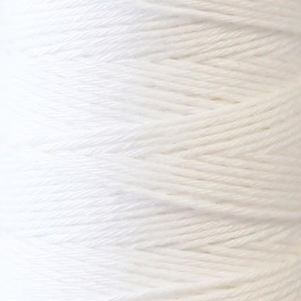 Hidamari Sashiko Thread Solid - Snow White - LEN88-3