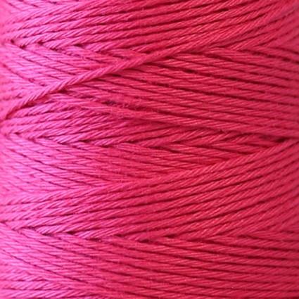 Hidamari Sashiko Thread Solid - Raspberry Sorbert - LEN88-8