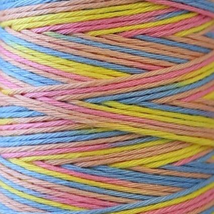 Hidamari Sashiko Thread Multicolor - Rainbow Sorbert - LEN89-303