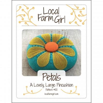 Petals - Pincushion pattern by Local Farm Girl