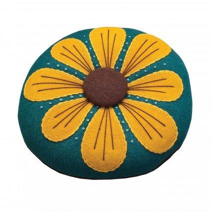 Yellow/Green - Petals Pincushion Kit - LFG103