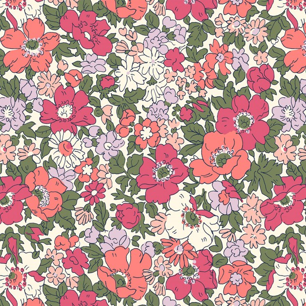 Liberty of London Cottage Garden Pink Floral