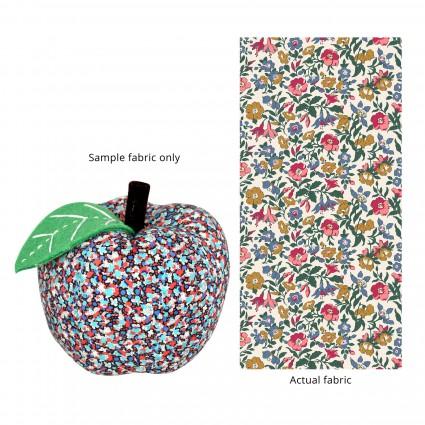 Apple Pincushion Multi Floral