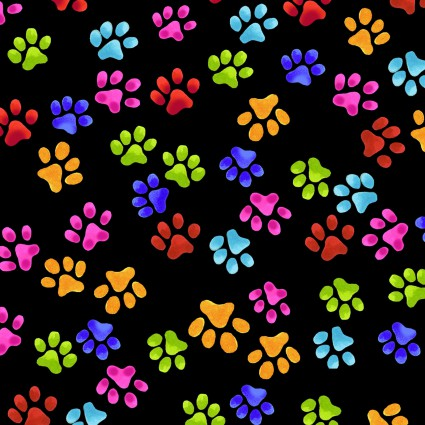 Cool Cats Paws Black