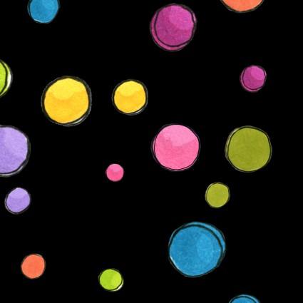 Dream Dots Black - Loralie Basics