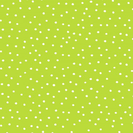 Loralie Dinky Dots Lime