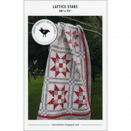 Lattice Stars by Karen Walker of Laugh Yourself Into Stitches