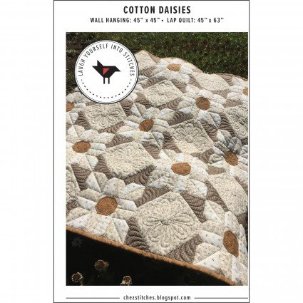 Cotton Daisies by Laugh Yourself into Stitches