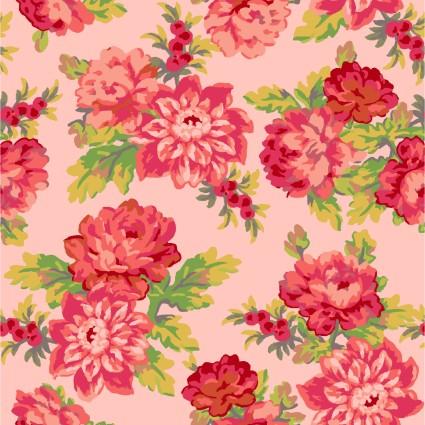 Sweet Beginnings Focal Floral Pink