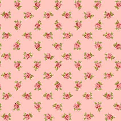 Sweet Beginnings Spaced Floral Pink