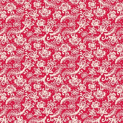 Sweet Beginnings Lace Red