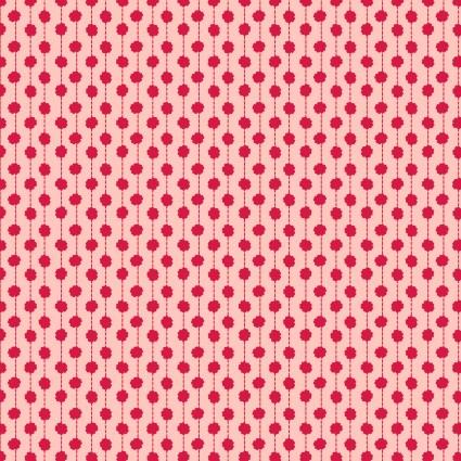 Sweet Beginnings Dot Stripe Pink