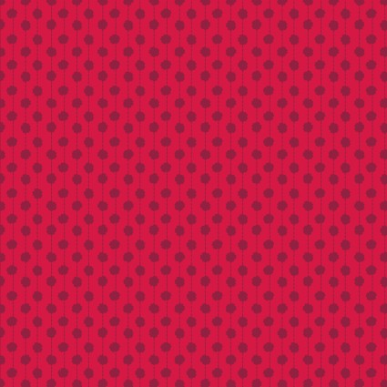 Sweet Beginnings Dot Stripe Red