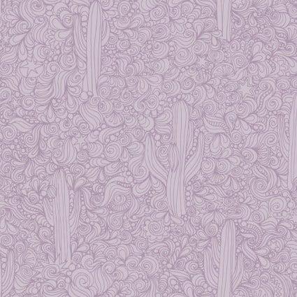 Saguaro Cactus Lines Purple