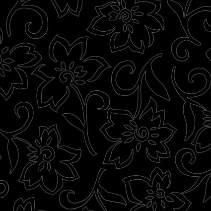 In The Black Floral