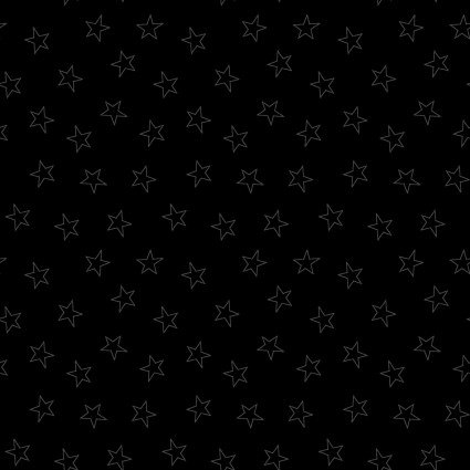 Star Silhouesttes In the Black