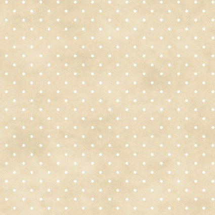 Beautiful Basics -beige w/ white dot