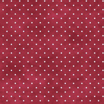 Maywood Studio Beautiful Basics MAS609-MP Red/white dot