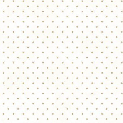 Beautiful Basics -- MAS609-WT White/Tan Classic Dot