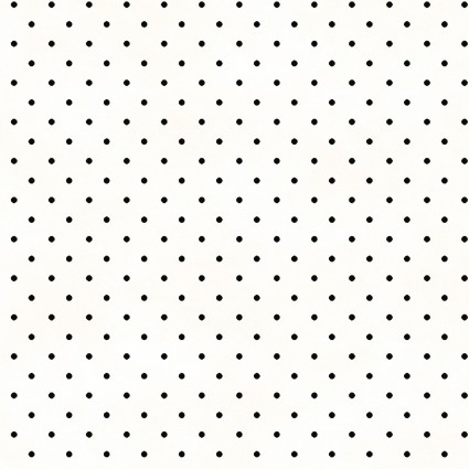 Beautiful Basics - Classic dot white/black