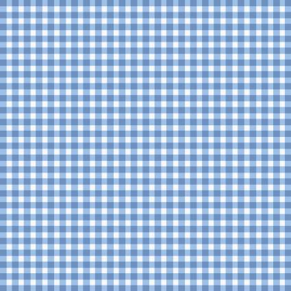 Beautiful Basics - Gingham - Cashmere Blue