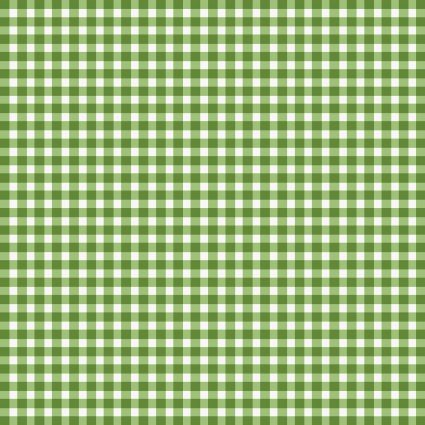 Beautiful Basics -  Gingham - Green Grass