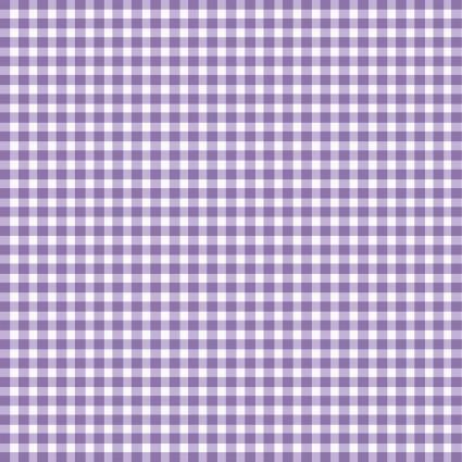 Beautiful Basics Violet Gingham