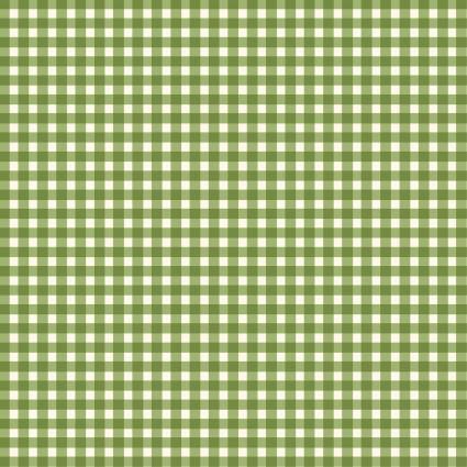 Beautiful Basics Green Mini Gingham