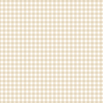 Beautiful Basics 610- WE1- Almond Gingham