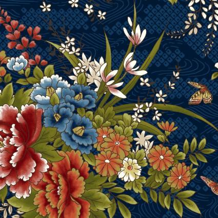 Japanese Garden Navy flower
