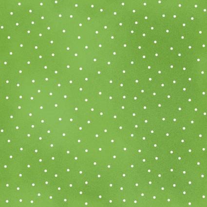 Spring Green Scattered Dot