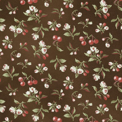 Pioneer Spirit - Dark Brown Floral