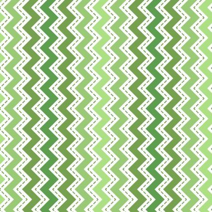 KimberBell Basics Green Zig Zag