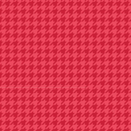 Kimberbell Basics Red Houndstooth Fabric