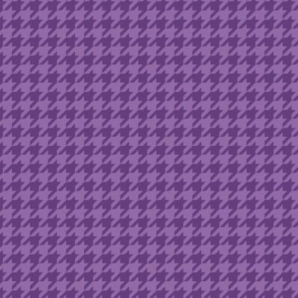 Kimberbell Basics Violet Houndstooth Fabric