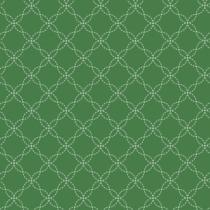 Kimberbell Basics Green Lattice Fabric