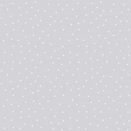 Kimberbell Basics Gray Tiny Dots Fabric