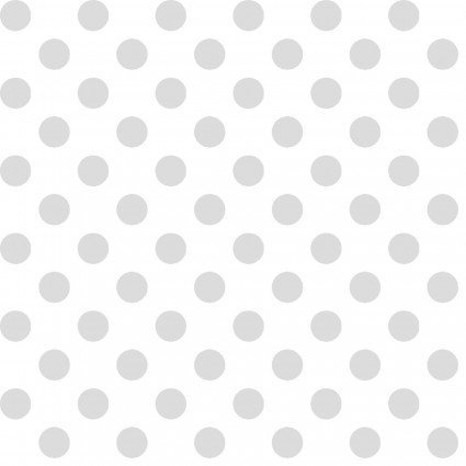 KimberBell BASICS MAS8216-WW  DOTS - WHITE ON WHITE